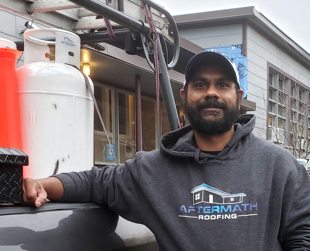 Kash Parmar - Aftermath Roofing LTD